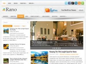 Rano WordPress blog theme