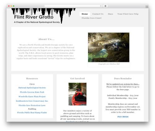 Responsive WordPress free download - flintrivergrotto.org