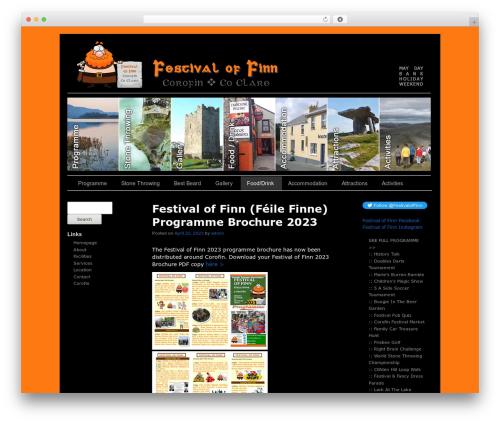 Free WordPress Page-list plugin - festivaloffinn.com