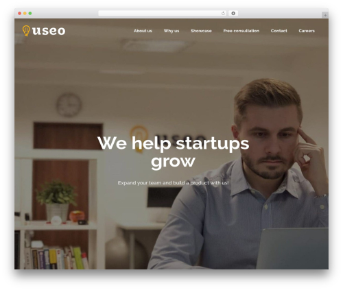 Startit theme WordPress - useo.pl