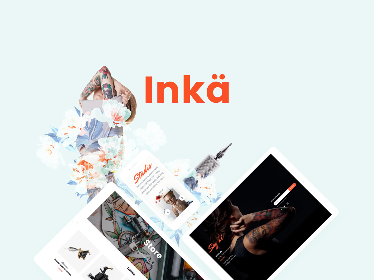 Tattoo WordPress theme