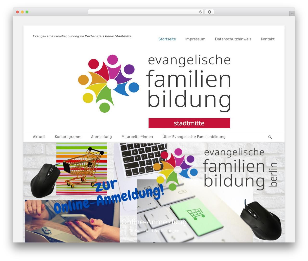 Theme WordPress Catch Base Pro - familienbildung-stadtmitte.de