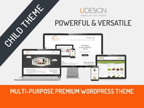 U-Design WordPress ecommerce template