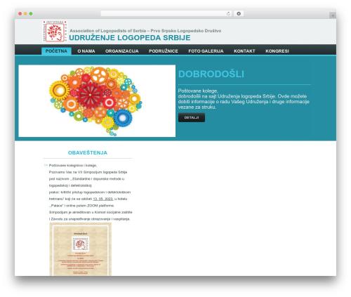 uls best WordPress theme - udruzenjelogopedasrbije.com
