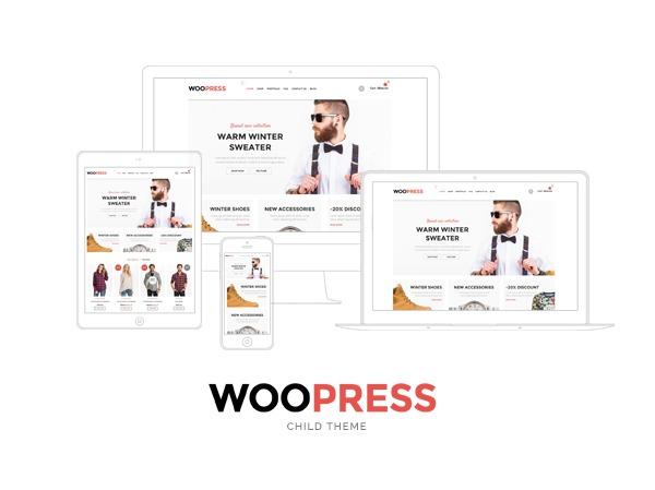 WooPress Child WordPress theme