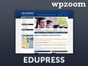 WordPress template EduPress