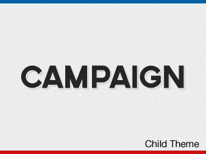 WordPress theme Campaign Child Theme