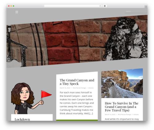 WP theme Oblique - firstpersonforeign.com