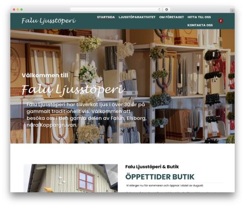 Free WordPress Opening Hours plugin - faluljus.se