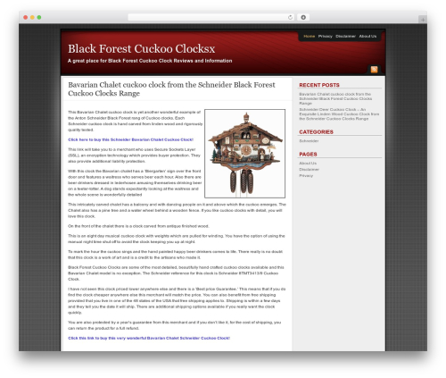 Best WordPress template Affiliate Internet Marketing theme - blackforestcuckooclocksx.com