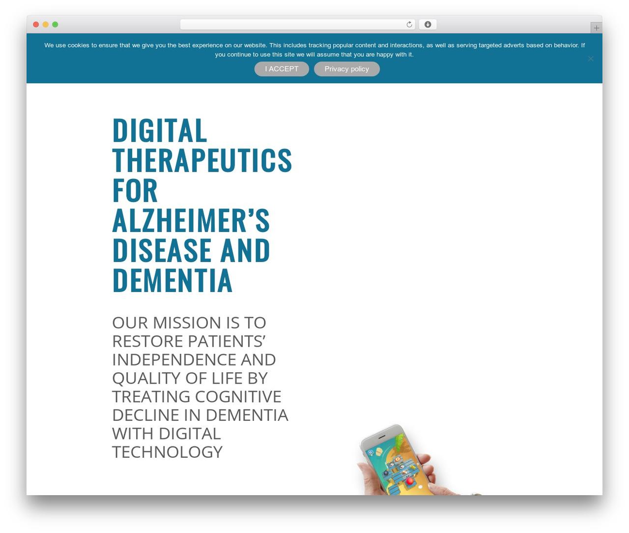 Best WordPress theme Applay - brain-plus.com