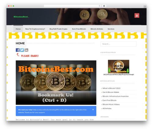Coller WordPress gaming theme - bitcoinsbest.com