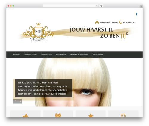 evolve WordPress template free download - boutichic.eu