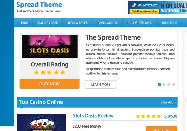 Spread II Theme best WordPress template