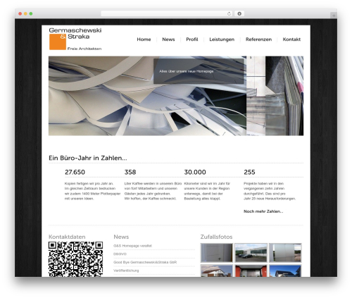 Template WordPress Carta - bgp-architekten.de