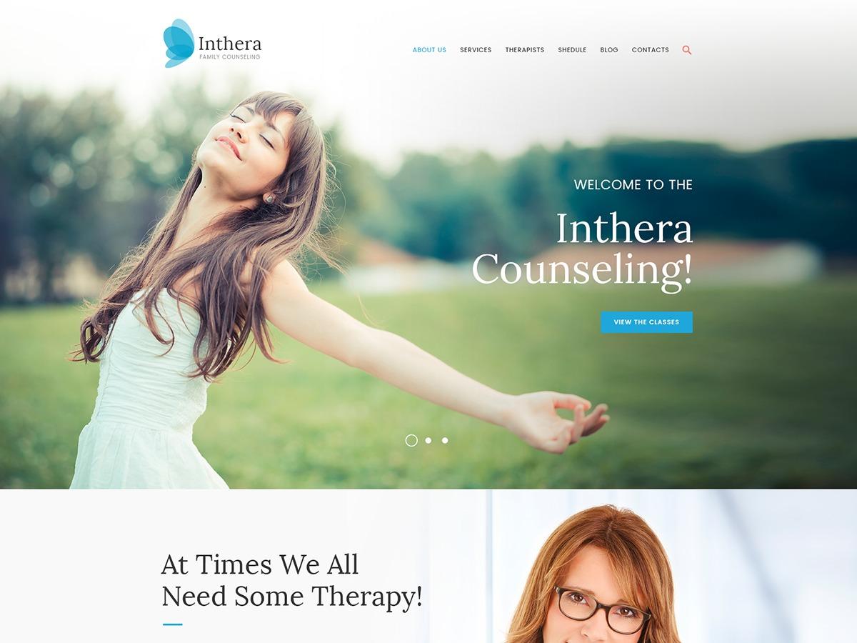 Inthera WordPress theme
