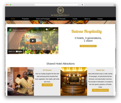Kodax WordPress theme - bhhaiti.com