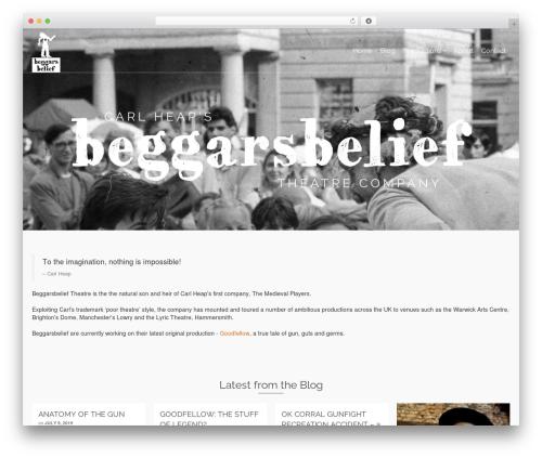 Pinnacle template WordPress free - beggarsbelief.org.uk