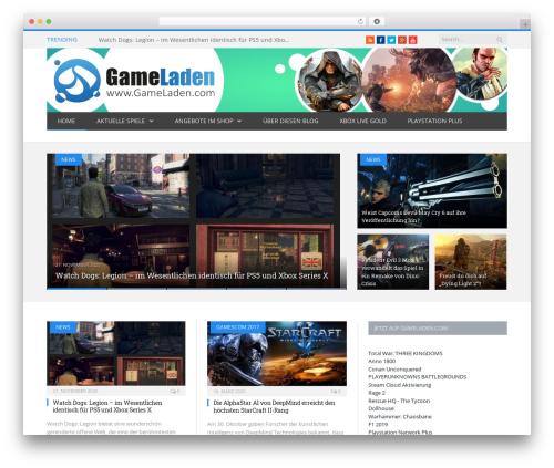 SmartMag template WordPress - blog.gameladen.com