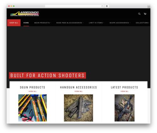TheSaaS premium WordPress theme - arredondoaccessories.com