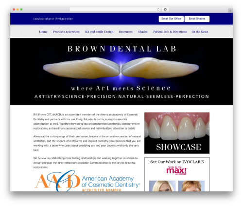 WordPress popup-press plugin - browndentallab.net
