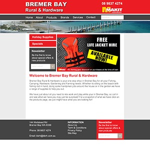 Best WordPress template CPS - Bremer Bay