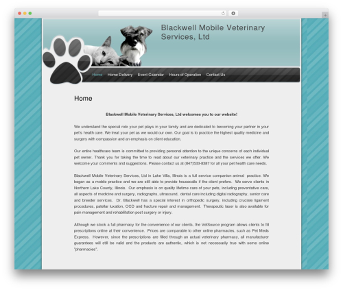 WordPress wp-html-sitemap plugin - blackwellmobile.com
