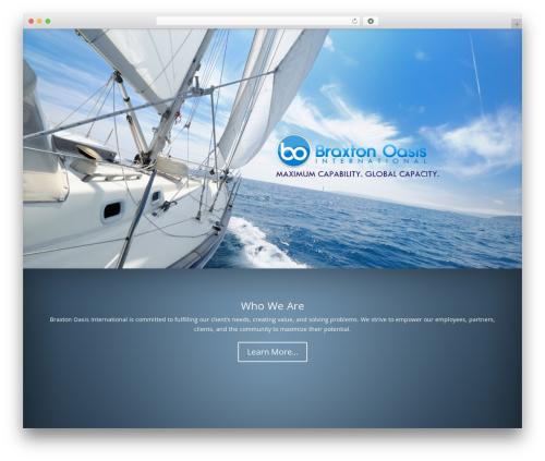 Divi real estate WordPress theme - braxtonoasis.com
