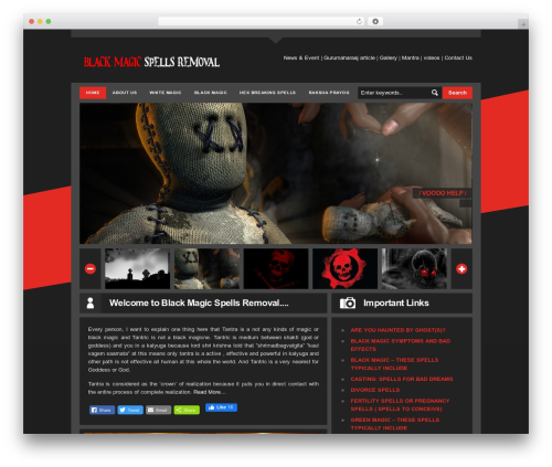 LondonCreative+ v4.2 WordPress page template - blackmagicspellsremoval.com