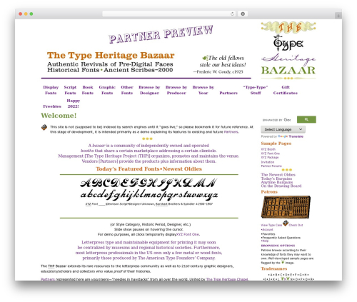 WordPress simple-content-reveal plugin - bazaar.typeheritage.com