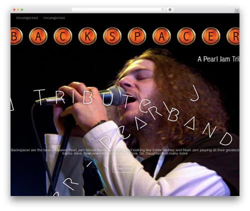 Arcade Basic best free WordPress theme - backspacer.co.uk