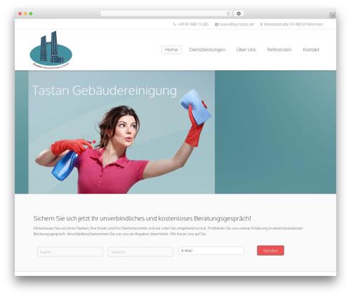 Sandy WordPress template - bg-tastan.de
