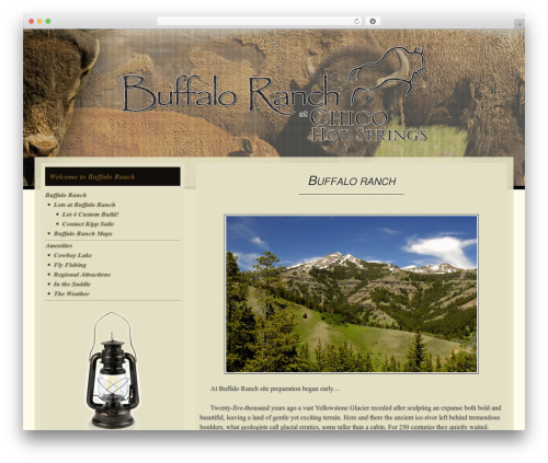 Free WordPress Royal PrettyPhoto plugin - buffaloranch.com