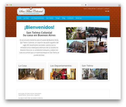 Theme WordPress Responsive - bairescolonial.com.ar