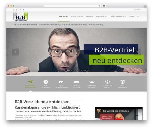 WP theme Enfold - b2b-ingenieur.com