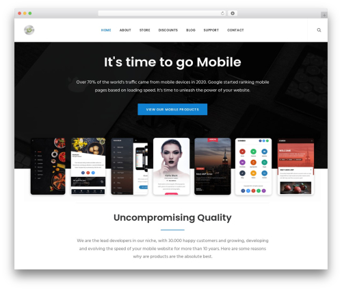 Best WordPress theme Uncode - enableds.com