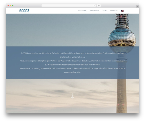 Omni premium WordPress theme - econa.com