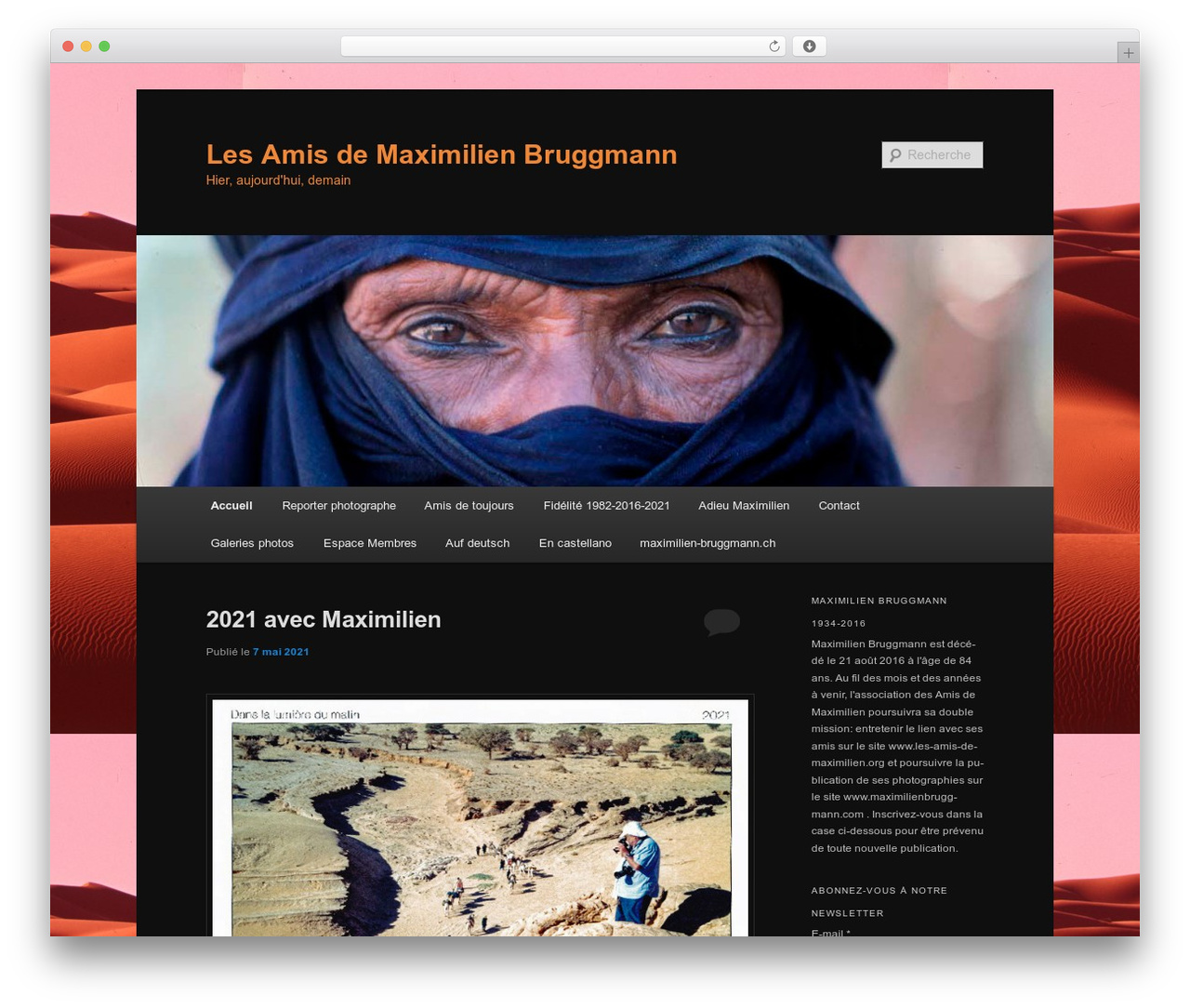 WordPress theme Twenty Eleven - blog.les-amis-de-maximilien.org