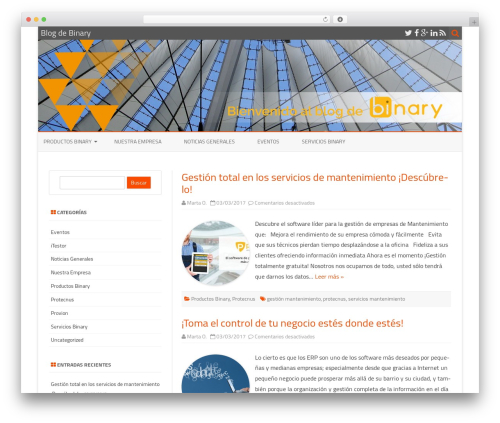 ZeroGravity WordPress free download - blog.binary.es