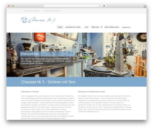Centindu Portfolio, Business & eCommerce top WordPress theme - beta.chaussee5.de