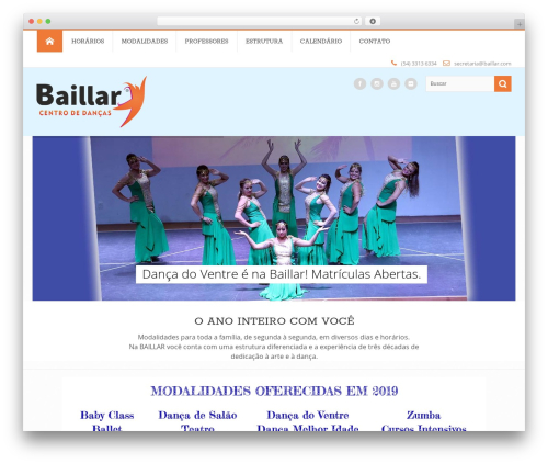 Circle theme WordPress theme - baillar.com