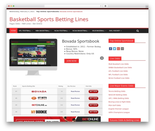 ColorMag WordPress theme download - basketball-sportsbettinglines.com