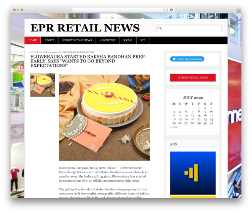 Diginews WordPress theme - eprretailnews.com