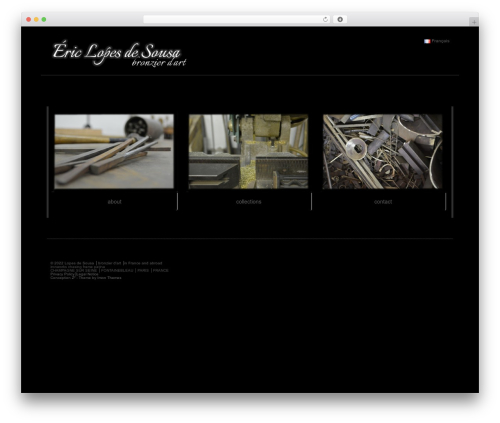Hathor WordPress theme free download - bronze-de-paris.com