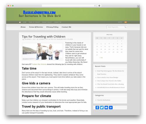 Headlines (Provided by Zazavy.com) WordPress travel theme - basilicaindustria.com