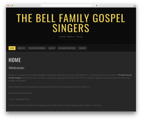noise wordpress theme design bellfamilygospelsingerscom