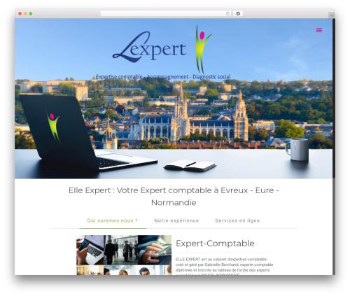 Template WordPress Betheme - elleexpert.fr