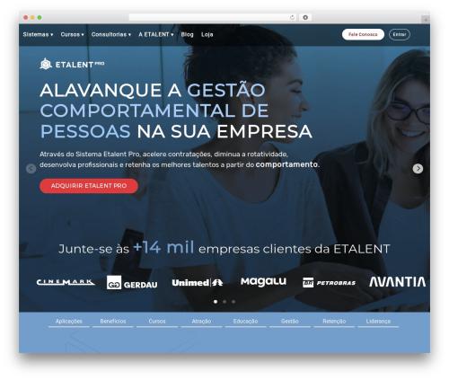 WordPress vcparticlesbackground plugin - etalent.com.br