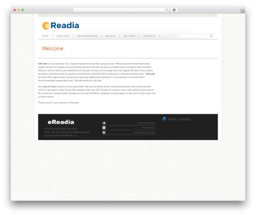 Agivee top WordPress theme - ereadia.com