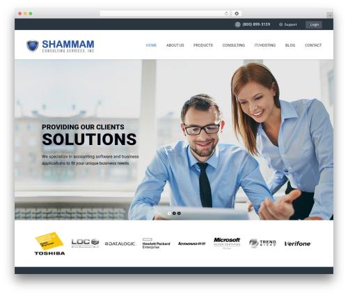 ArkaHost template WordPress - blogs.shammam.com